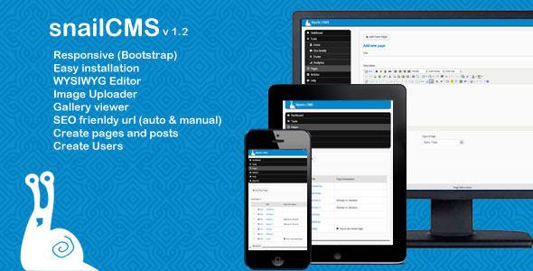 snailCMS - Content Management System