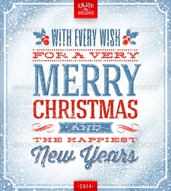 GraphicRiver Christmas Greeting Illustration 5922562