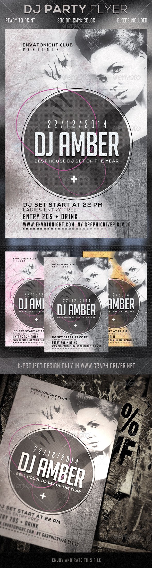 GraphicRiver DJ Party Flyer 5922762
