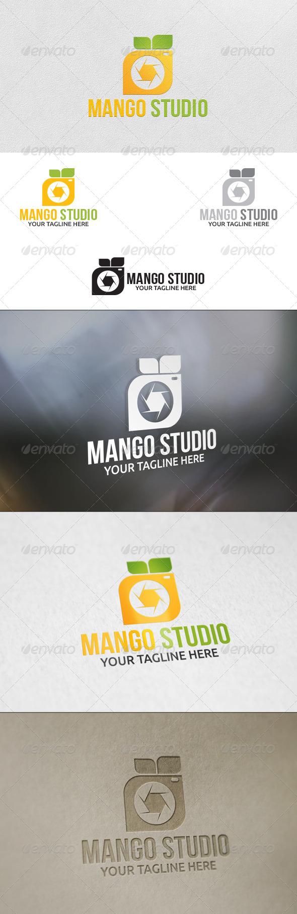 GraphicRiver Mango Studio Logo Template 5922838