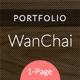 Link toWanchai - responsive onepage portfolio
