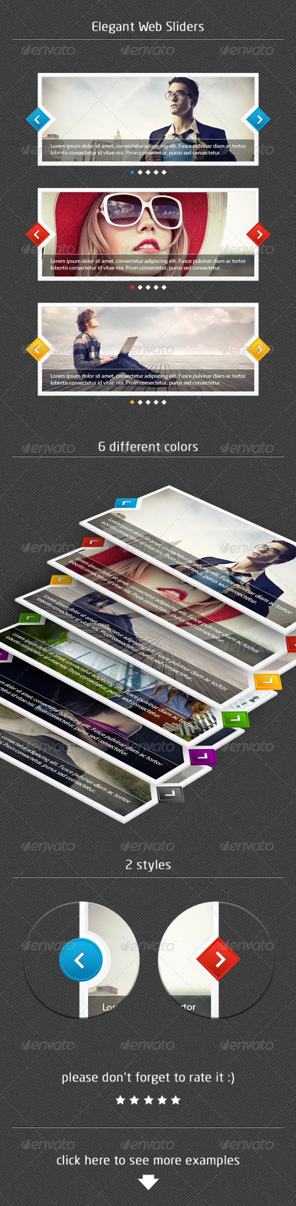 GraphicRiver Elegant Web Sliders 5909575
