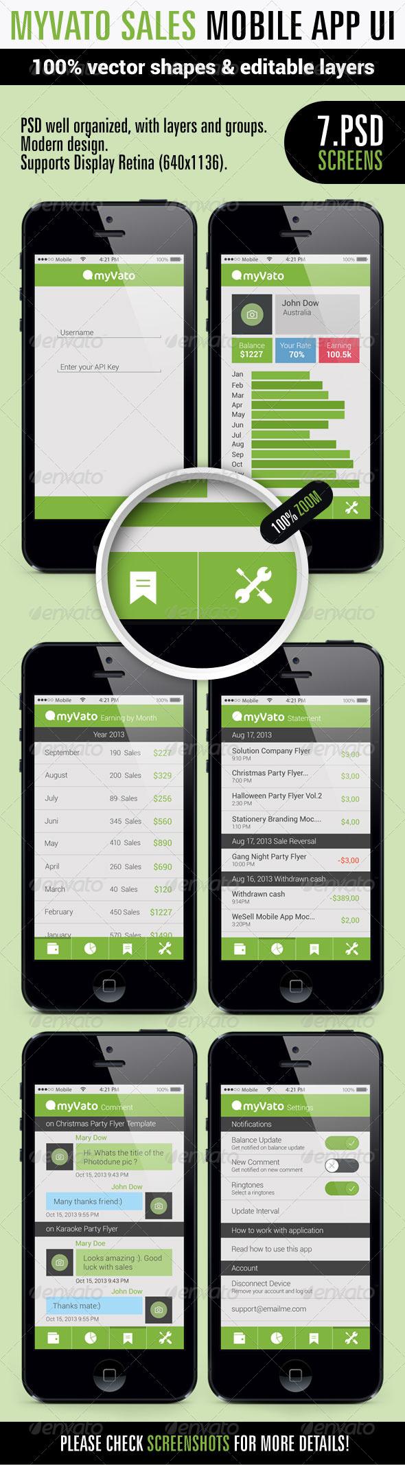 GraphicRiver MyVato App Ui 5912573