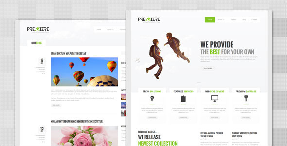 ThemeForest Premiere Corporate Business WordPress Theme 5923033
