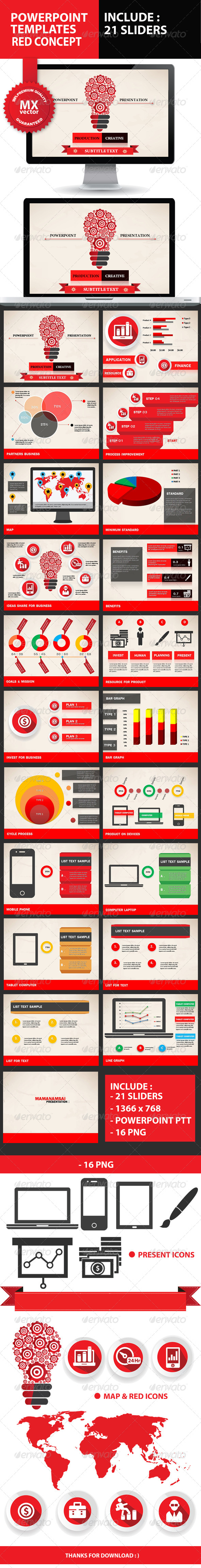 GraphicRiver Product Creative Powerpoint Presentation 5923039