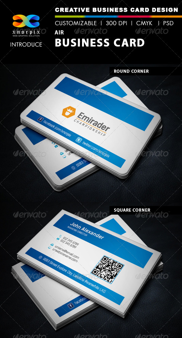 GraphicRiver Air Business Card 5923069