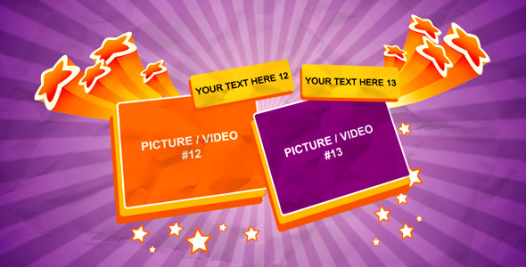 After Effects Project - VideoHive The Stars 572509