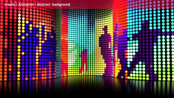 LED Lights Wall 05