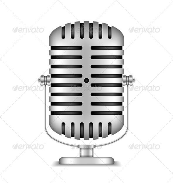GraphicRiver Microphone 5923263