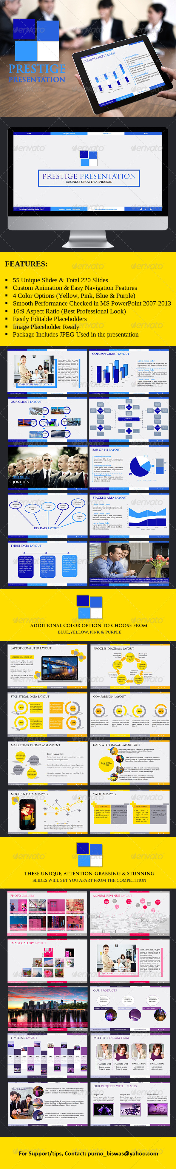GraphicRiver Prestige PowerPoint Presentation Template 5923270