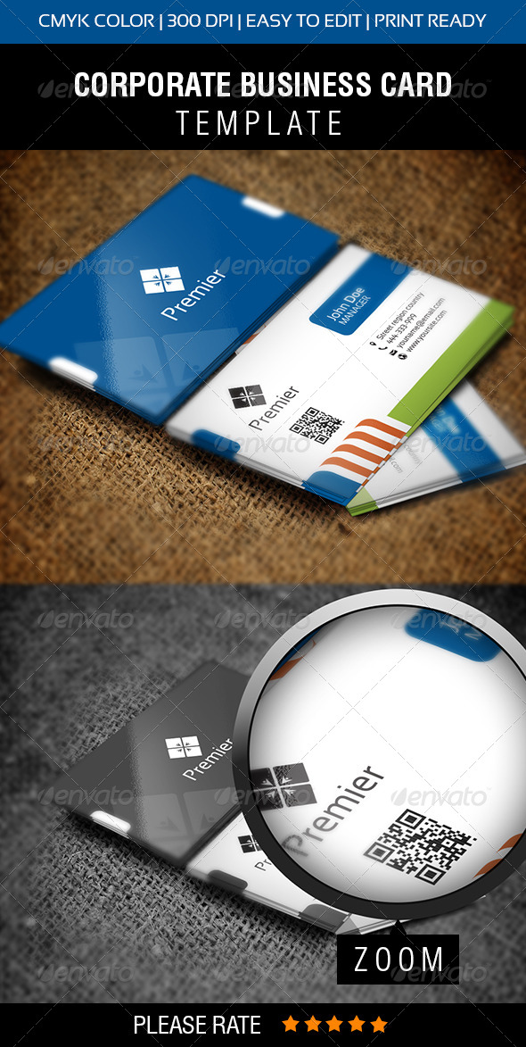 GraphicRiver Premier Business Card 5923326