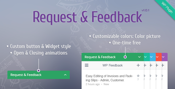 WordPress Request & Feedback Plugin  - CodeCanyon Item for Sale