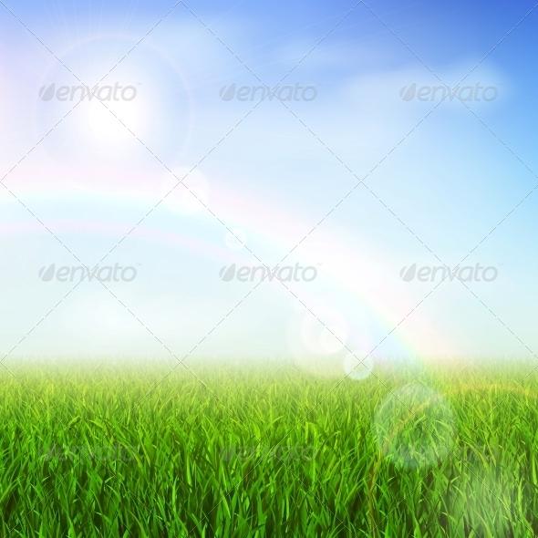 GraphicRiver Green Field 5923355
