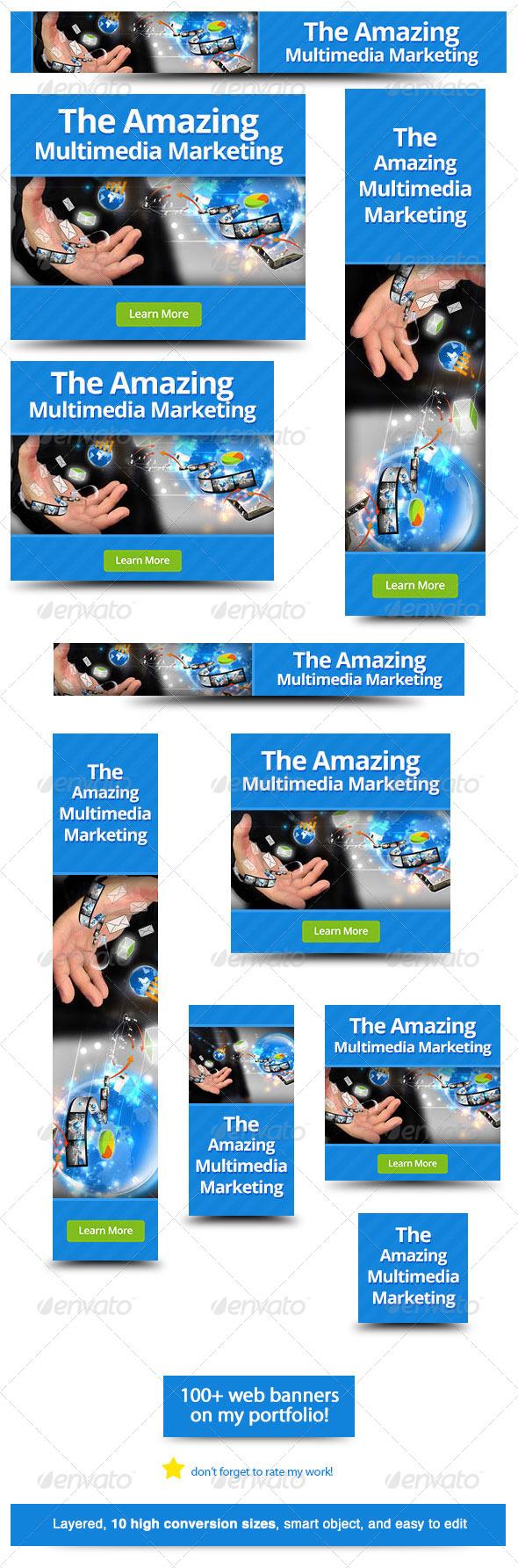 GraphicRiver Multimedia Web Banner Design 5923793