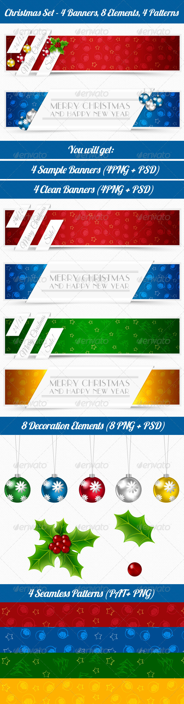 GraphicRiver Christmas Banners 5923802