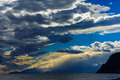 the storm over the sea at sunset - PhotoDune Item for Sale