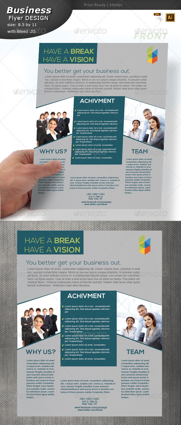 GraphicRiver Business Flyer Design 5924552