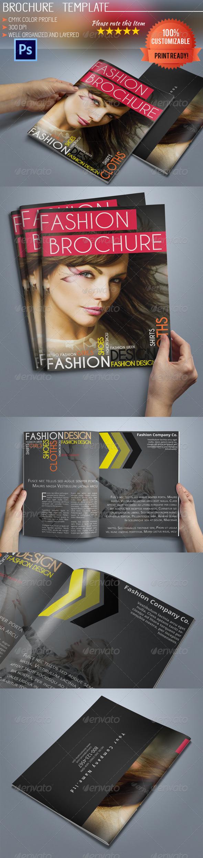 GraphicRiver A5 Fashion Brochure 5925339