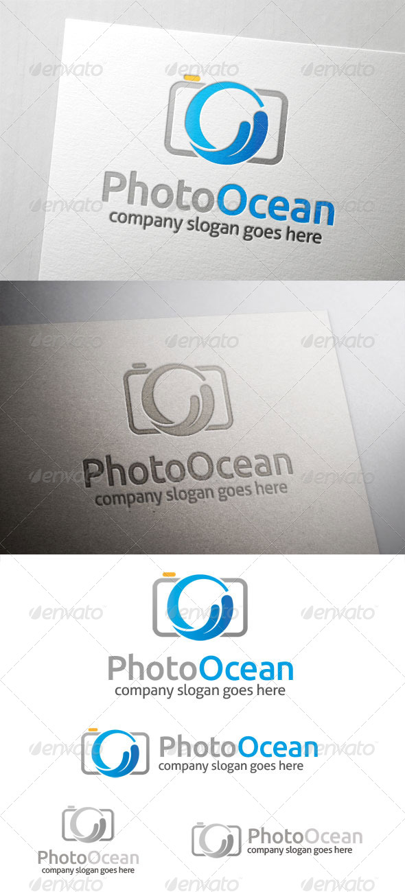 Photo Ocean Logo - Nature Logo Templates