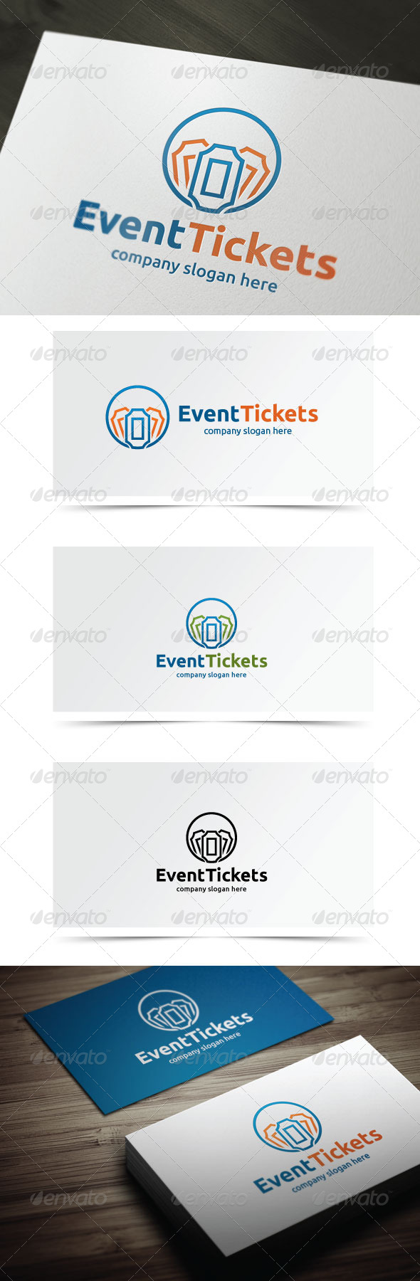 GraphicRiver Event Tickets 5926483