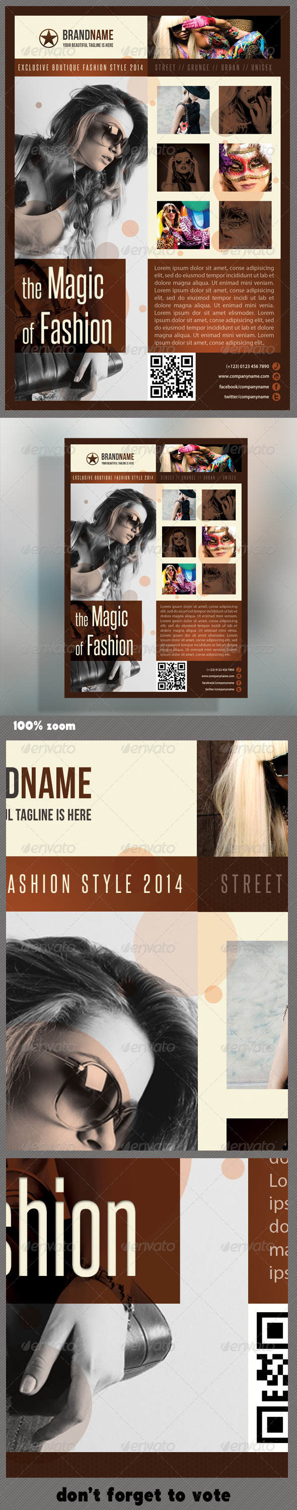 GraphicRiver Fashion Product Flyer 07 5926877