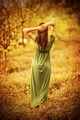 Sensual nymph in autumn garden - PhotoDune Item for Sale