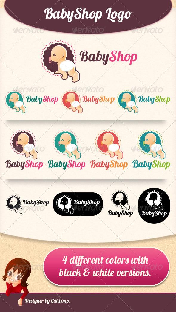Logotipos para Tiendas de Ropa de Bebé.