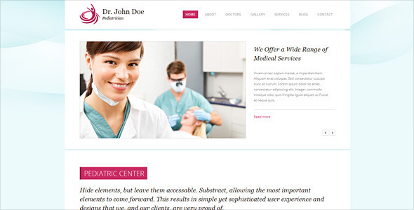 ThemeForest Dr Doe Responsive Retina-Ready HTML5 One-Page 5927793