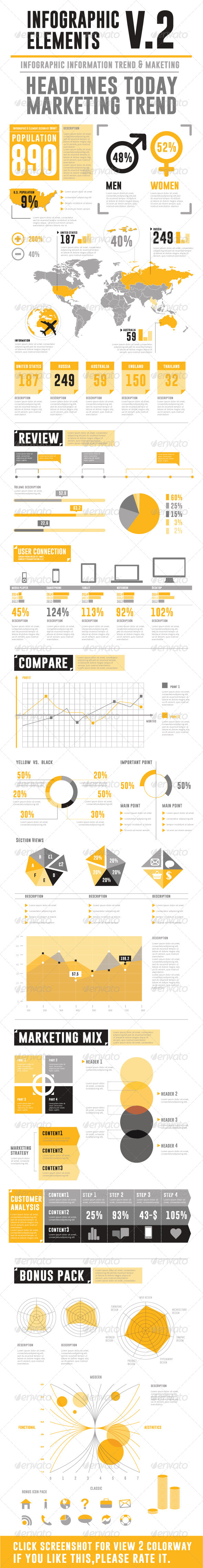 GraphicRiver Infographic Elements V.2 5915513