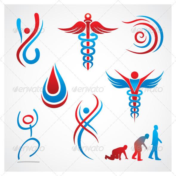GraphicRiver Health Medical Symbols 5928027