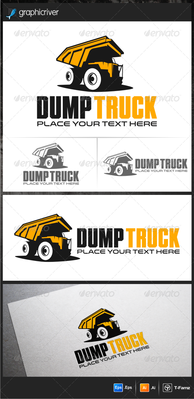 Dump Truck Logo Templates