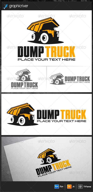 GraphicRiver Dump Truck Logo Templates 5928462