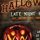 Halloween Late Night Party Poster - GraphicRiver Item for Sale
