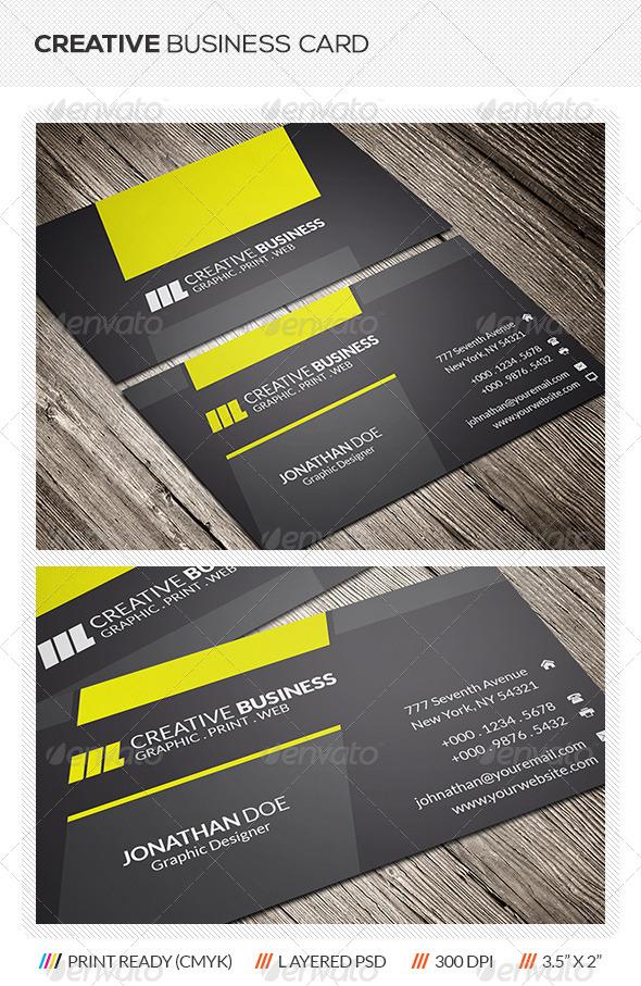 GraphicRiver Creative Business Card 5929187