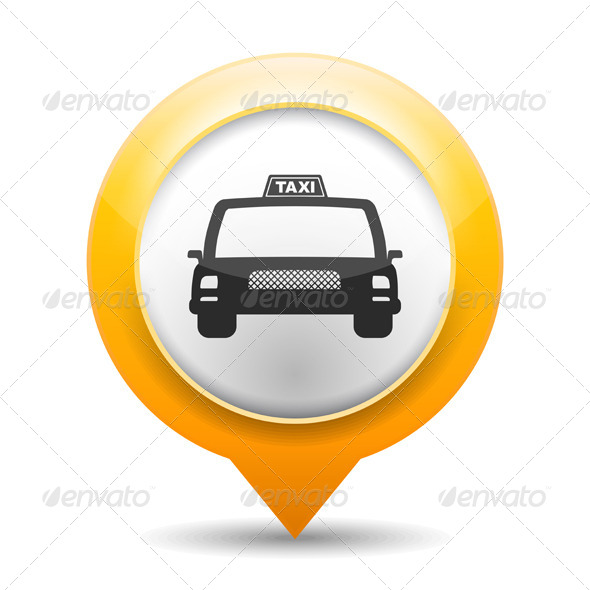 GraphicRiver Taxi Icon 5929188