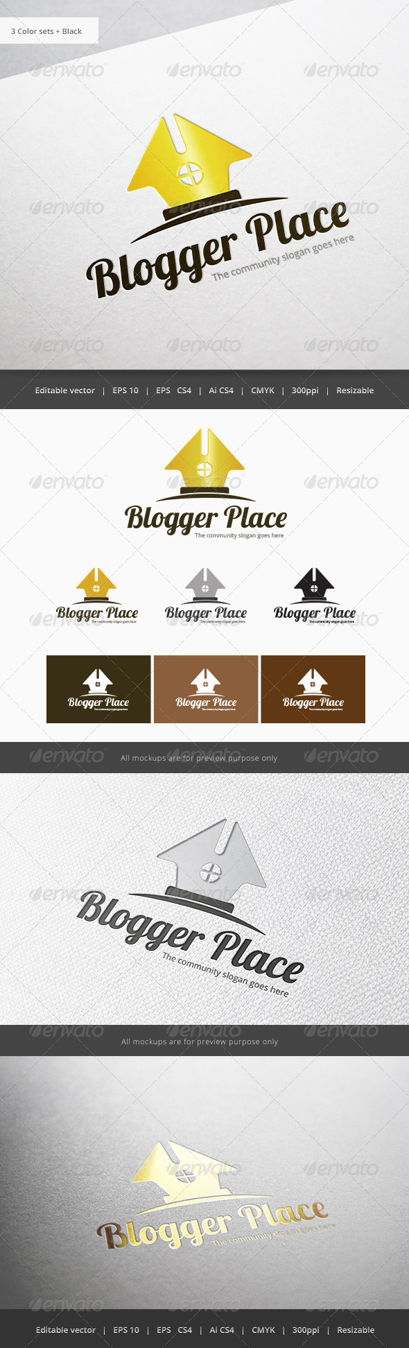 GraphicRiver Blogger Place 5933835