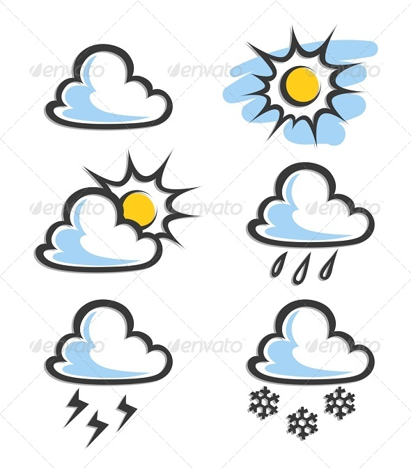 GraphicRiver Weather Icon 5933918