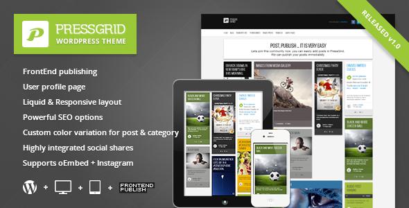 PressGrid - Multimedia Theme Wordpres | Thanh Hoa Blog
