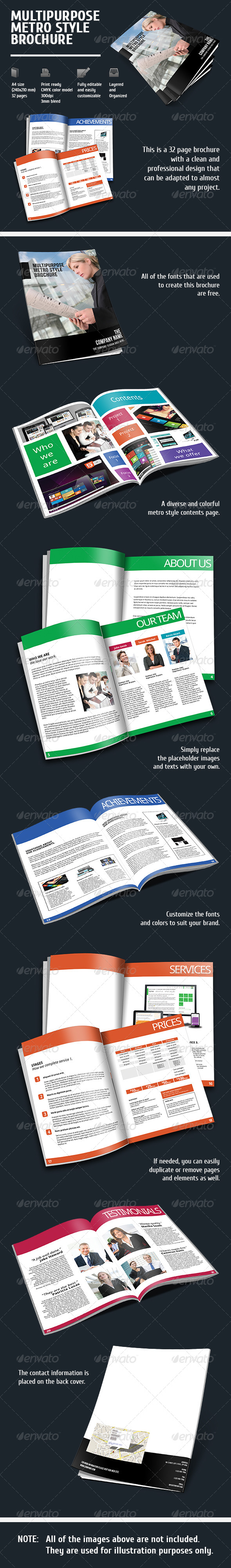 GraphicRiver Metro Style Brochure 5934070