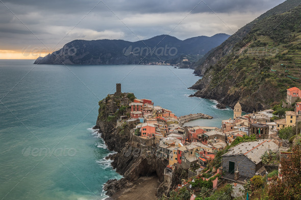 Vernazza, Itally - Stock Photo - Images