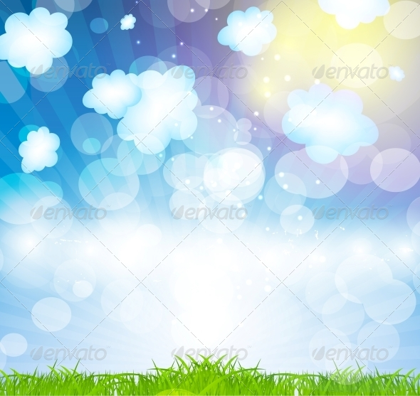 GraphicRiver Summer Holidays Vector Background 5934262