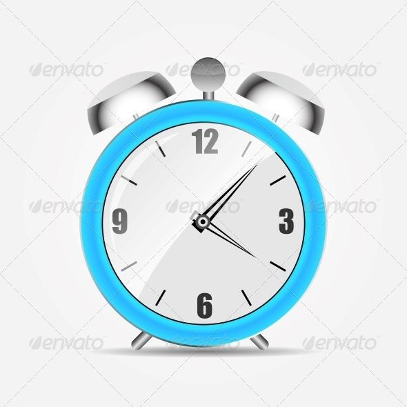 GraphicRiver Alarm Clock Icon 5934271