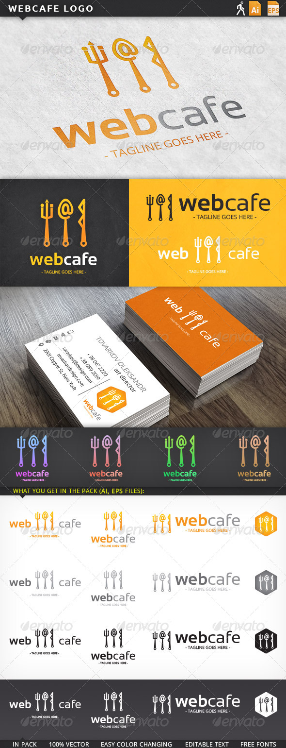 GraphicRiver Webcafe Logo 5934347