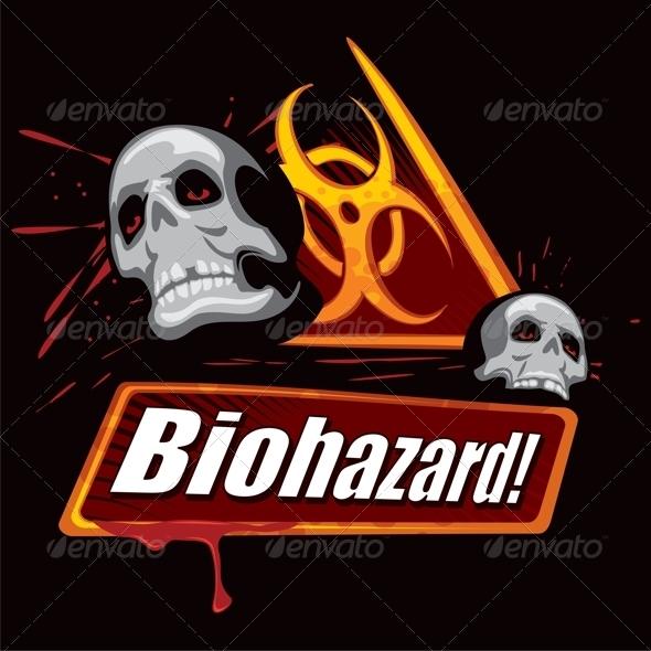 GraphicRiver Biohazard Symbol 5934444