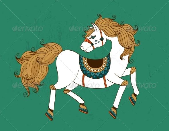 GraphicRiver Horse 5934456