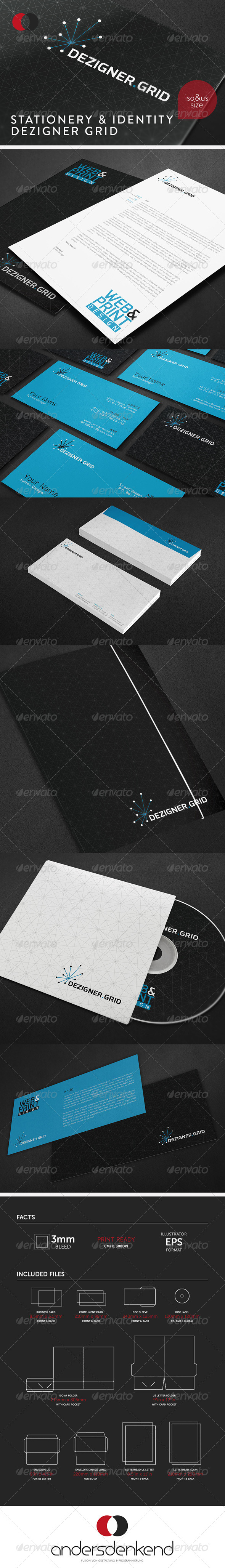 GraphicRiver Stationery & Identity Dezigner Grid 5900201