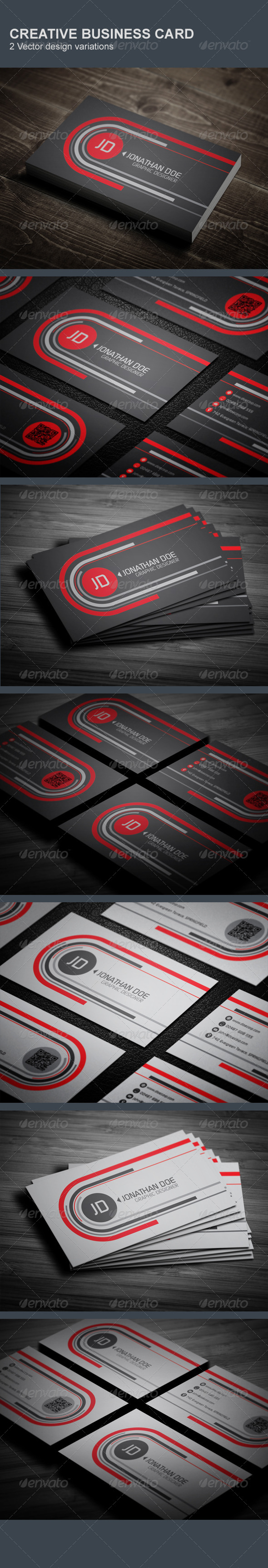 GraphicRiver Creative Business Card 5935492