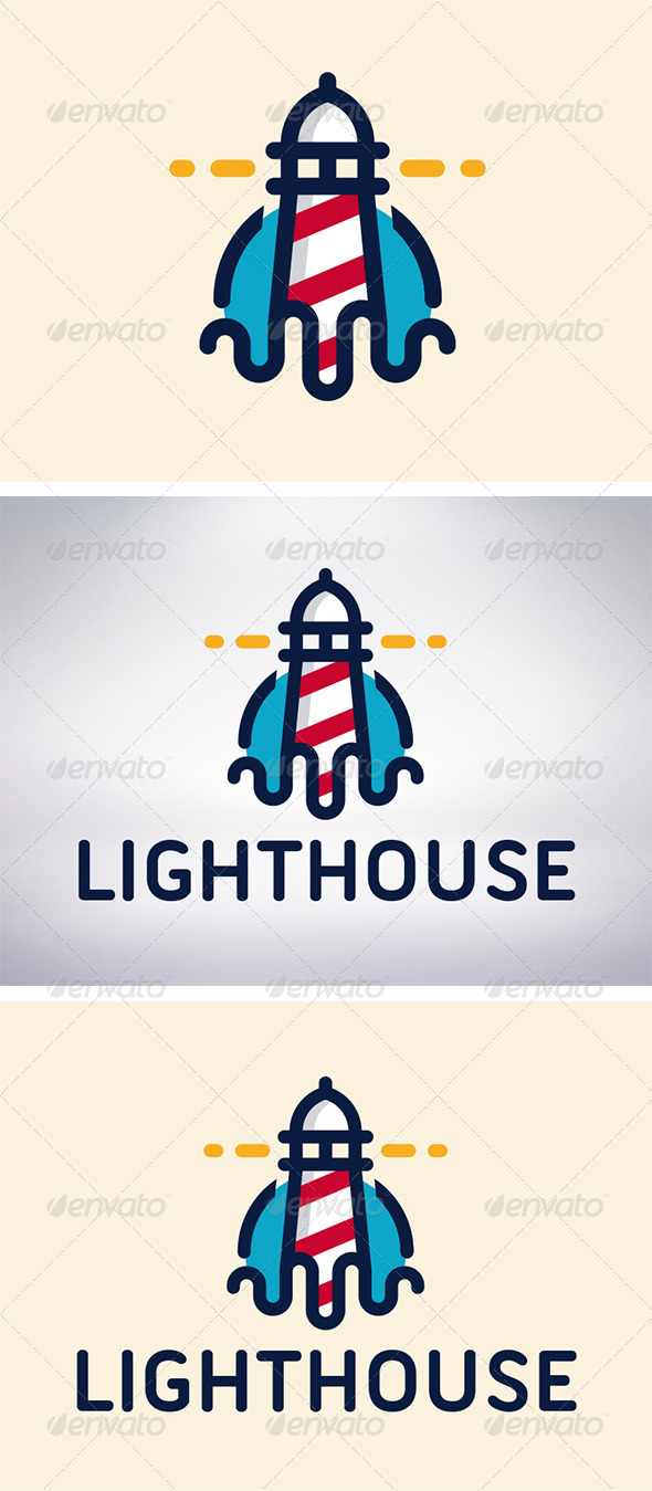 GraphicRiver Lighthouse Logo 5935759