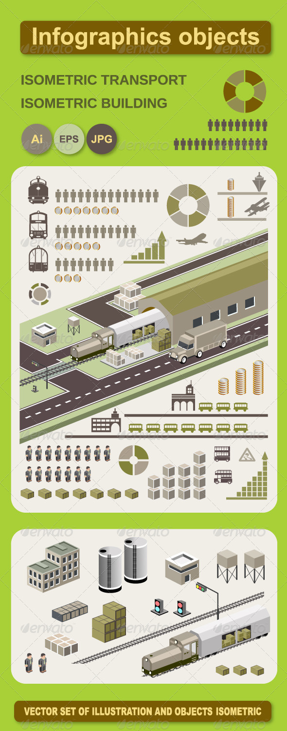 GraphicRiver Infographics Vector Objects 5935809