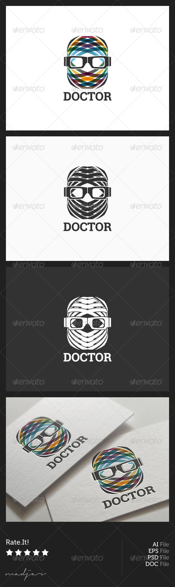 Doctor Logo - Humans Logo Templates